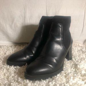 Black Zara Booties size 39